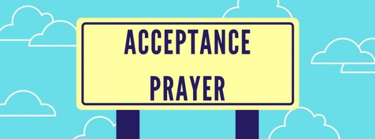 Daily Acceptance Prayer