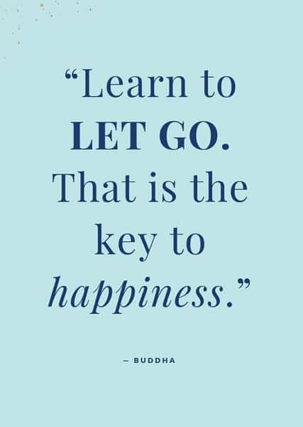 buddhism letting go quotes