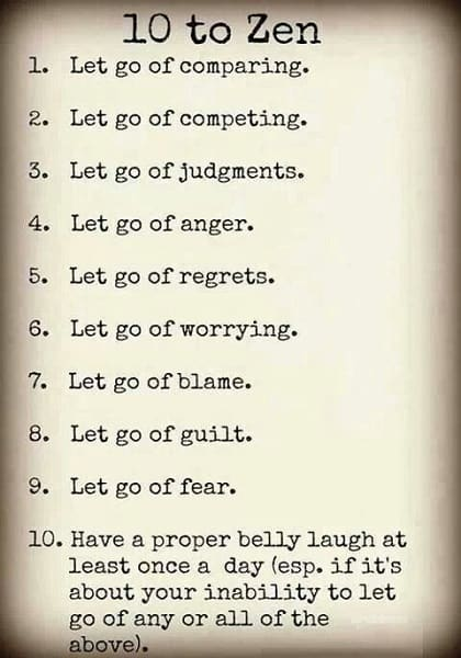 letting go positive quotes