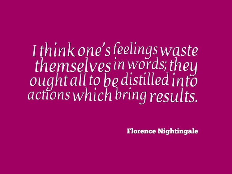 Florence Nightingale Quotes For Nurses