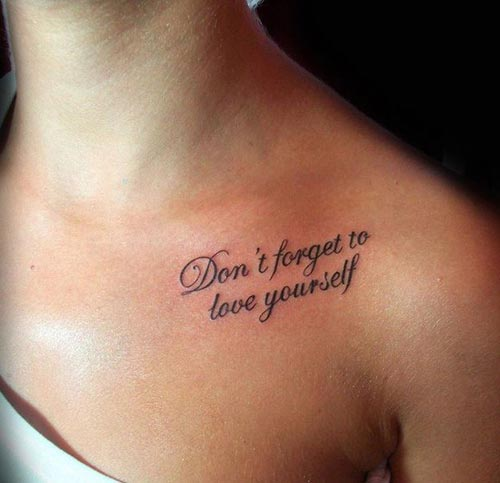 101 Best Meaningful Quotes for Tattoos Selected for You - BayArt
