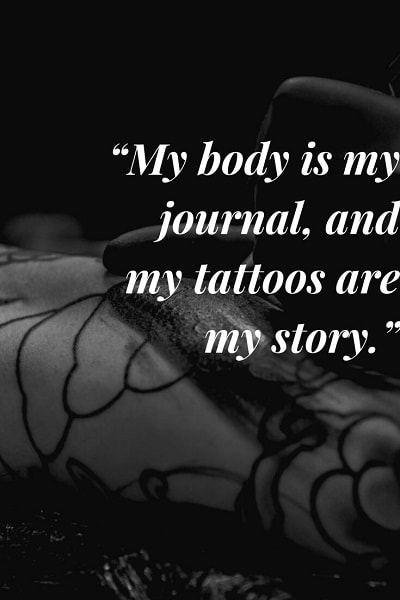 most famous tattoo quotes