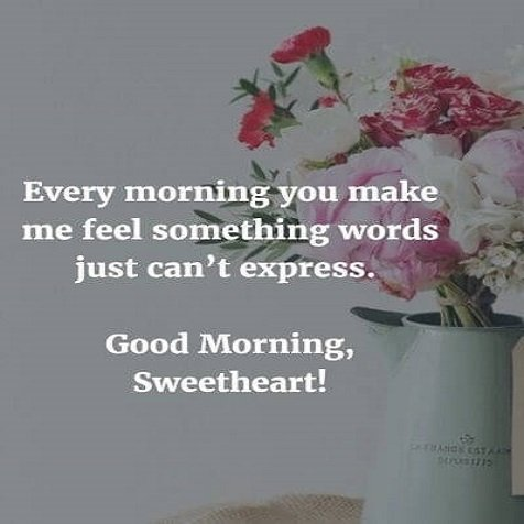 good morning romantic quotes