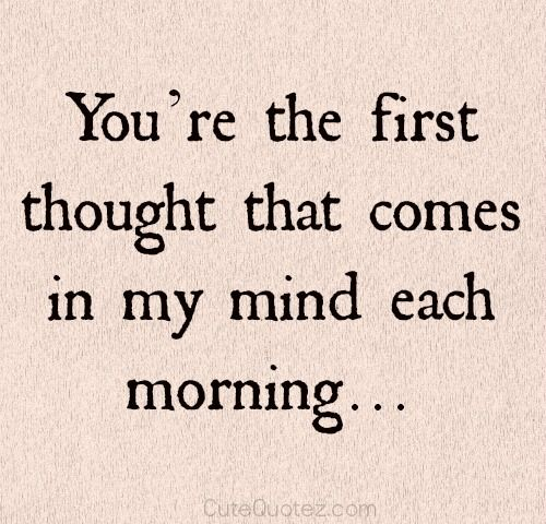 romantic morning quotes