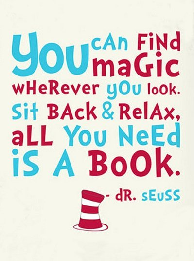 dr seuss reading quotes