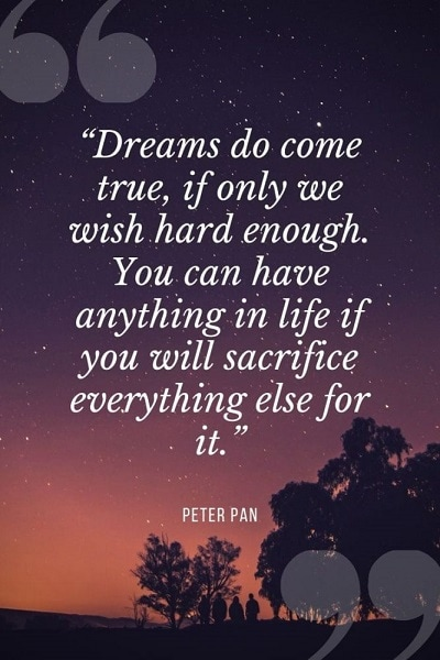 most famous peter pan quotes