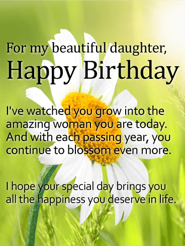 Magnificent 187 Special Happy Birthday Daughter Wishes Quotes Bayart Personalised Birthday Cards Paralily Jamesorg