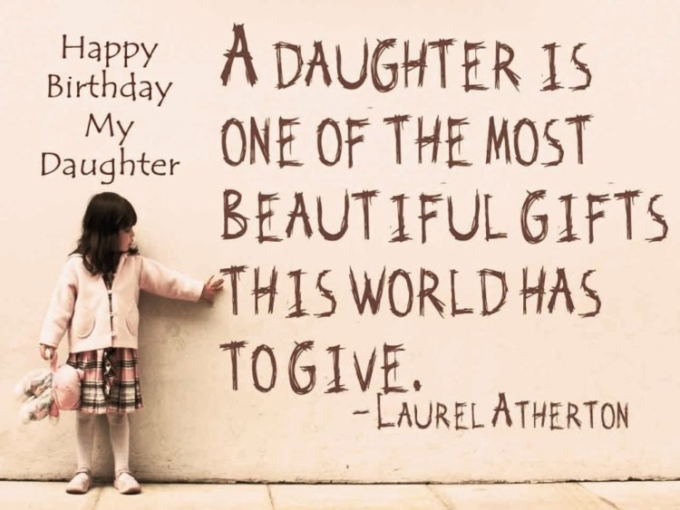 Sensational 187 Special Happy Birthday Daughter Wishes Quotes Bayart Personalised Birthday Cards Paralily Jamesorg
