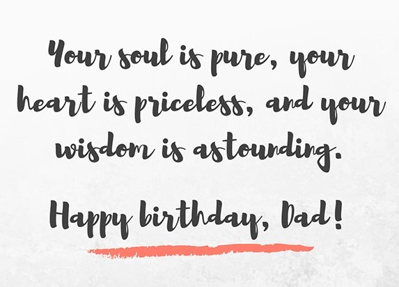200 Wonderful Happy Birthday Dad Quotes Wishes Bayart