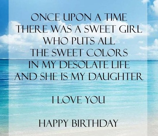Prime 187 Special Happy Birthday Daughter Wishes Quotes Bayart Personalised Birthday Cards Paralily Jamesorg