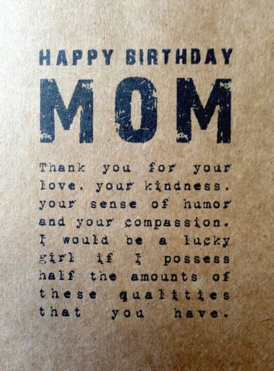 150+ Unique Happy Birthday Mom Quotes & Wishes with Images ...