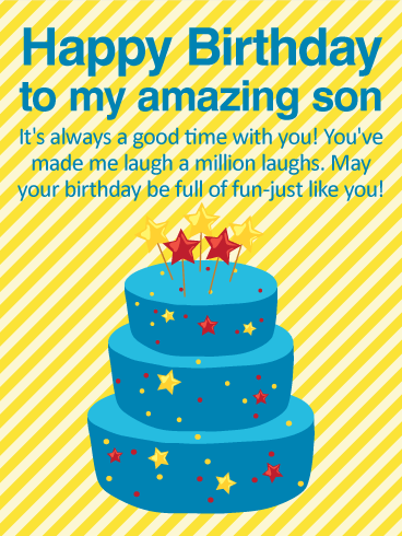 Happy Birthday Dear Son Wishes