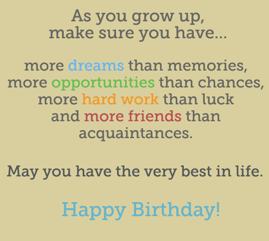 114 EXCELLENT Happy 21st Birthday Wishes And Quotes