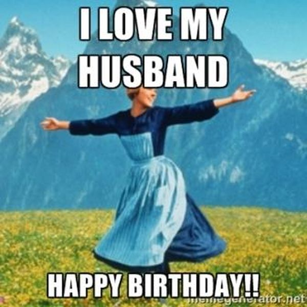 happy birthday husband meme