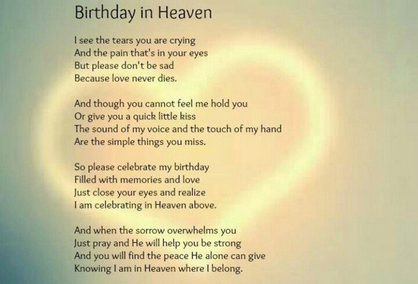 182+ PROFOUND Happy Birthday in Heaven Quotes & Images - BayArt
