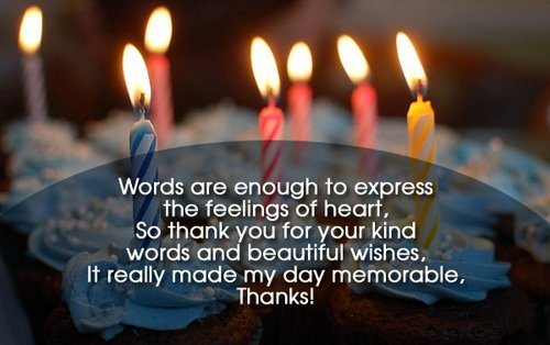 Top 123+ Ways To Thank You For Birthday Wishes & Messages