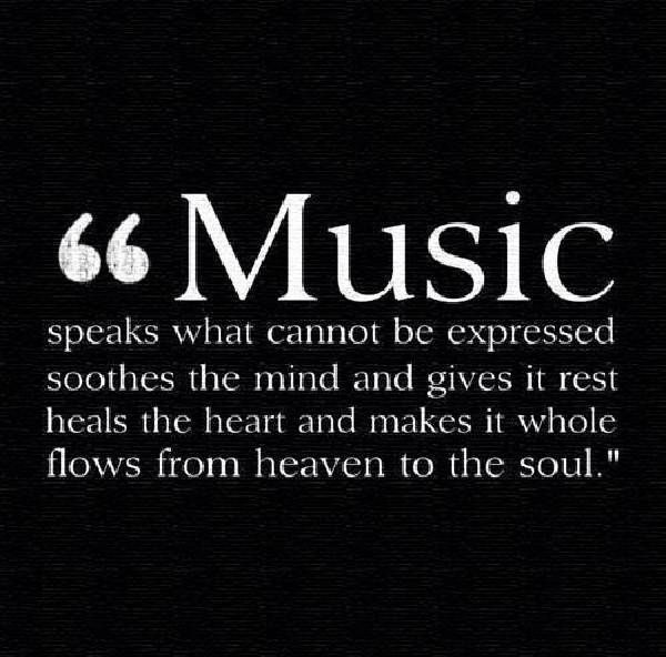 best music quotes and sayings