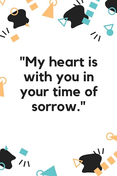 deep quotes for sympathy and condolences