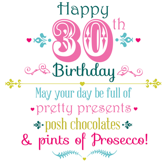 80 PERFECT Happy 30th Birthday Wishes Quotes