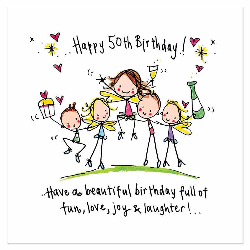 87 WONDERFUL Happy 50th Birthday Wishes And Quotes