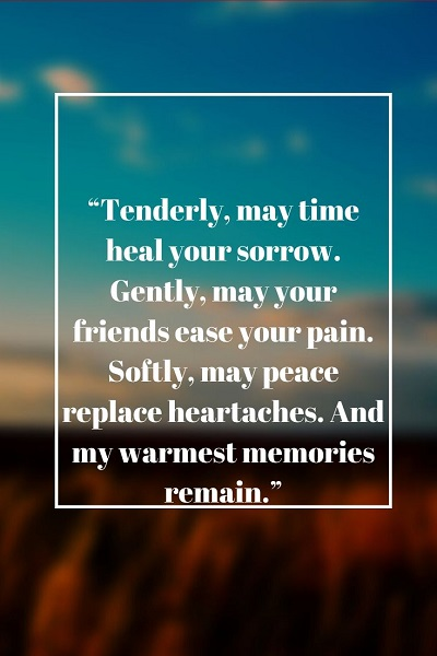 most famous sympathy and condolences quotes