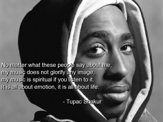 tupac words