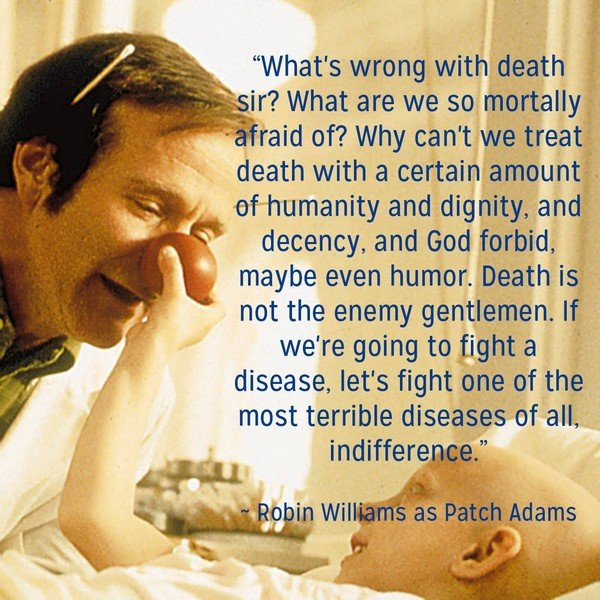 robin williams quotes from patch adams