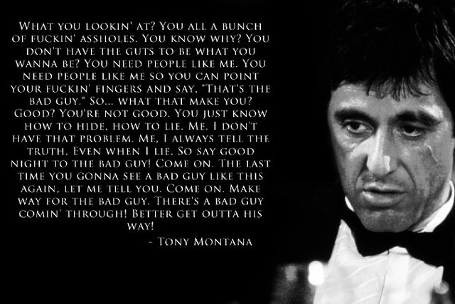 scarface quotes images