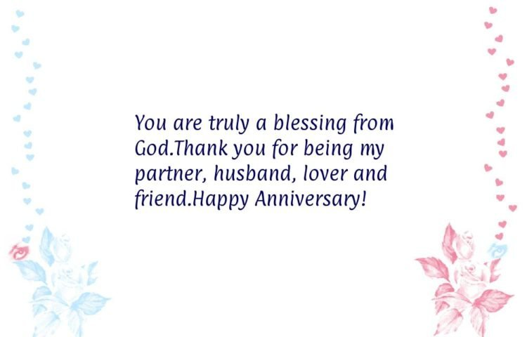 anniversary message