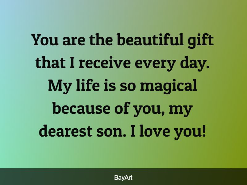 son love quotes