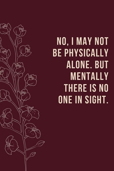 most famous quotes about being alone