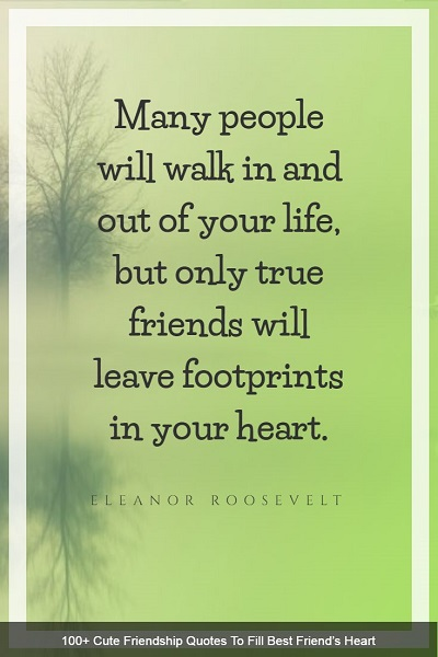 famous sayings about friendship