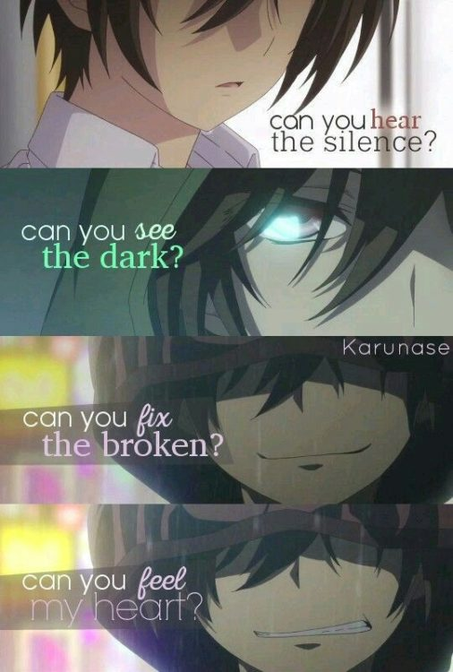 anime relationship quotes