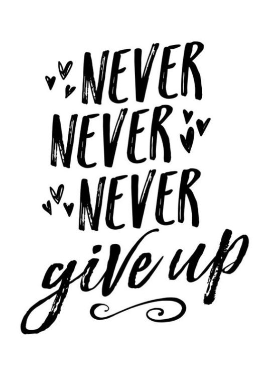 basketball quotes about never give up