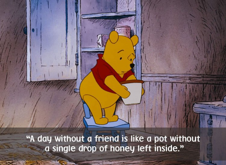 cute winnie the pooh quotes friendship