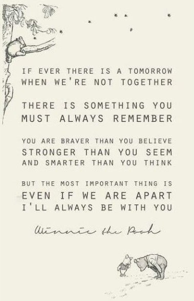 deep winnie the pooh life quotes