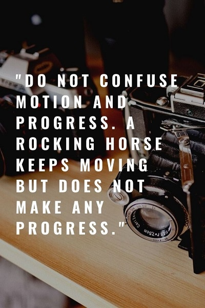 most famous quotes on progress