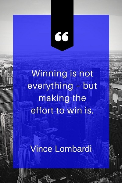 most famous vince lombardi quotes about winning