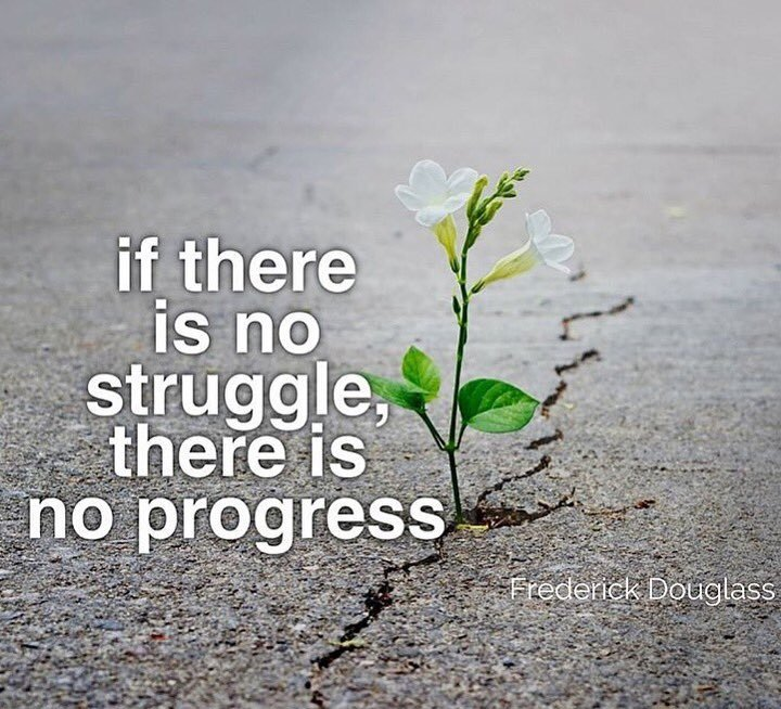 quotes about progress and struggle