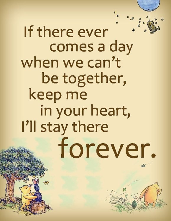 sweet winnie the pooh love quotes