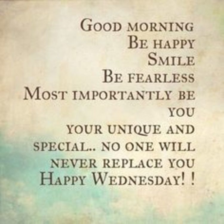 wednesday quotes of the day