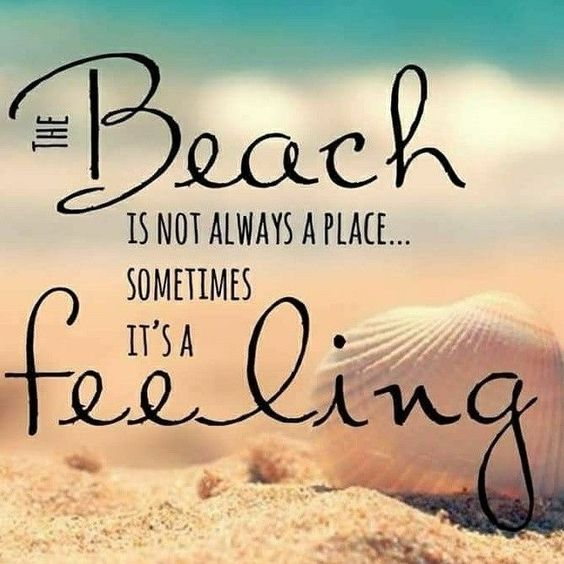 beach quotes feeling