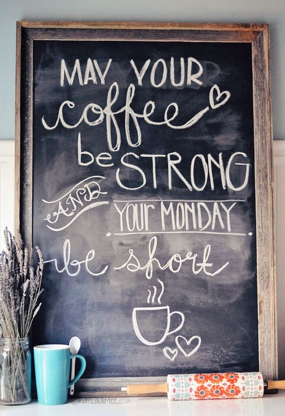 coffee and monday quotes