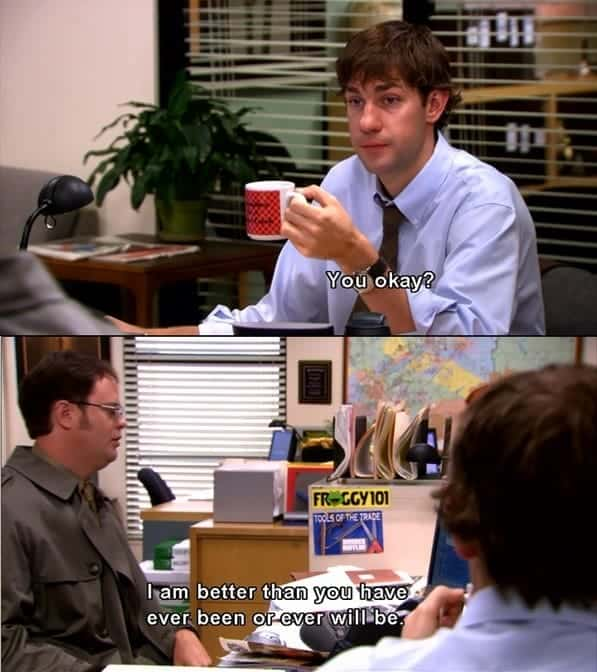 dwight schrute quotes idiot