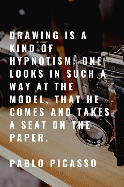 most famous drawing quotes