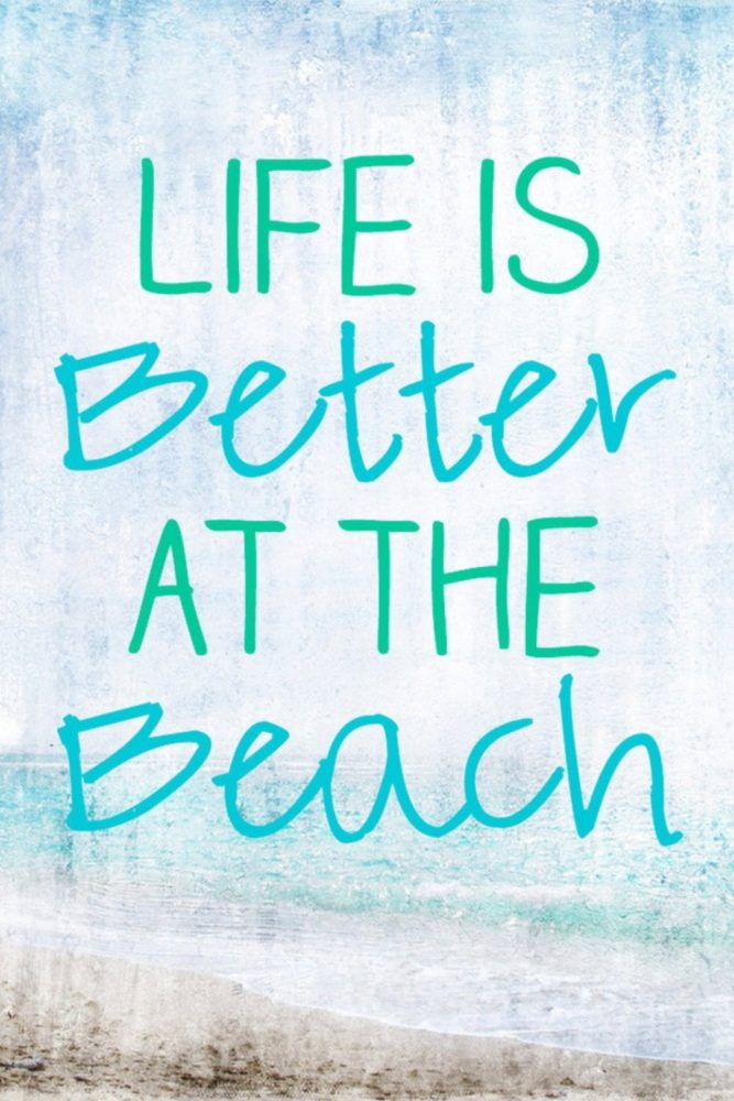 short beach quotes