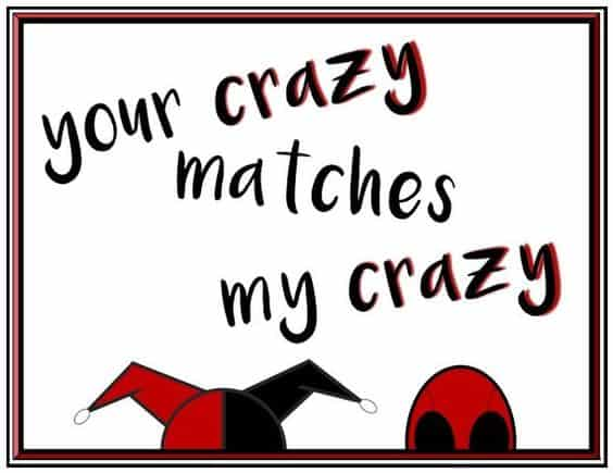 harley quinn quotes mad love