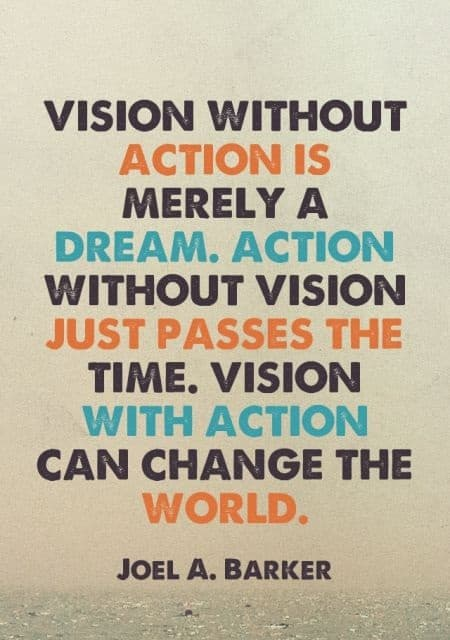 inspirational vision sayings