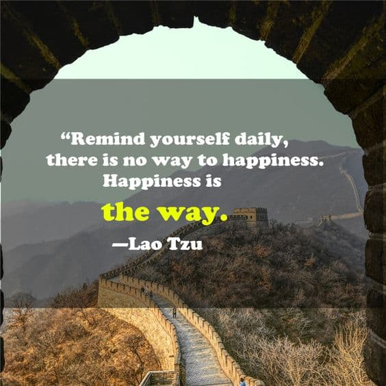 lao tzu quotes on happiness