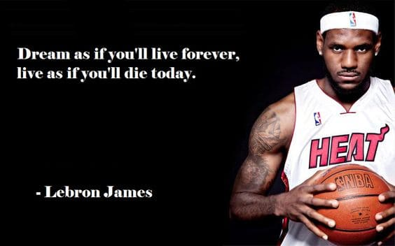 lebron james quotes about life